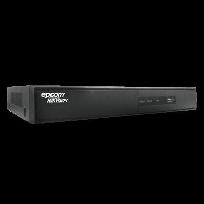 EV1008HDX Videograbadora Digital Híbrida de 8 Canales