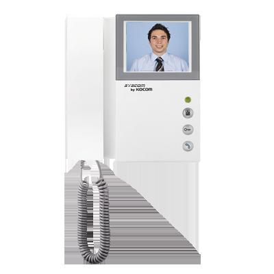 KCV301 Kit de TV Portero con auricular, Monitor a color 4″