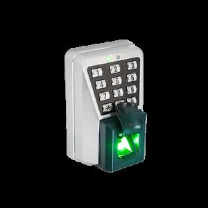 XT5 Lector IP de Huella y Proximidad con Teclado Antivandálico para Exterior.