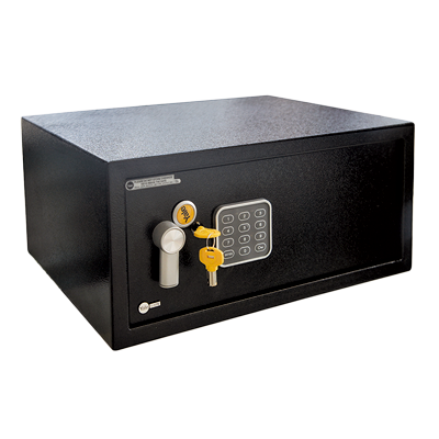 84834                                  Caja Fuerte Electrónica Para Hoteles y Residencias Tipo Laptop